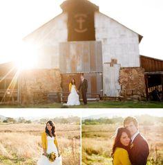 wedding dress + sweater. I'm thinking anniversary photo shoot.