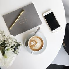 A side of adventure with my morning coffee | onlinestylist on Instagram |