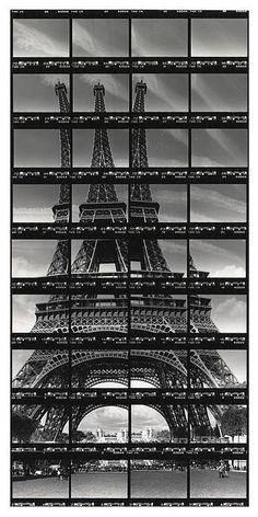 Thomas Kellner - Photography in Art: Paris, Tour Eiffel. Montage Photography, Photography Sketchbook, A Level Photography, Photography Collage, School Photography, Photography Projects, Art Sketchbook, Creative Photography, Amazing Photography