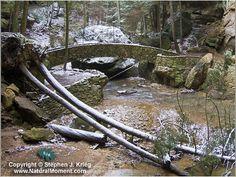 Old Man's Creek bridge at Old Man's Cave, Hocking Hills