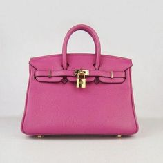 d50dec7ff6c1 Hermes Birkin 25 Rouge Shocking Silver Hardware is a totally handmade purse  by Hermès and named after actress and singer