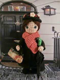 Mary Poppins amigurumi: Moñacos, cosicas y meriendacenas