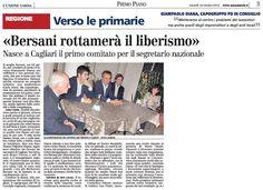 """SCRIVOQUANDOVOGLIO: """"BERSANI ROTTAMERA' IL LIBERISMO"""" (19/10/2012)"""