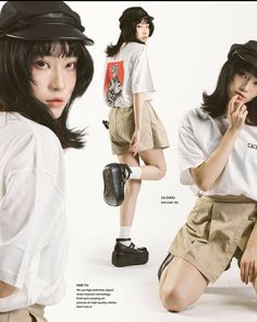 Fashion Poses, 80s Fashion, Fashion Prints, Fashion Beauty, Fashion Outfits, Ulzzang, Korean Photography, Japanese Streetwear, Tokyo Street Style