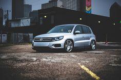 lowered Volkswagen Tiguan