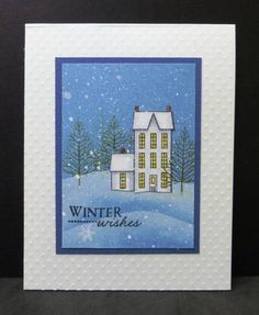 IC363 Winter Wishes by hobbydujour - Cards and Paper Crafts at Splitcoaststampers