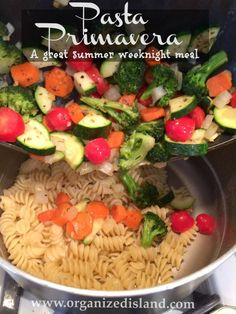 Wonderful midweek dinner idea. Also great for a meatless Monday supper.
