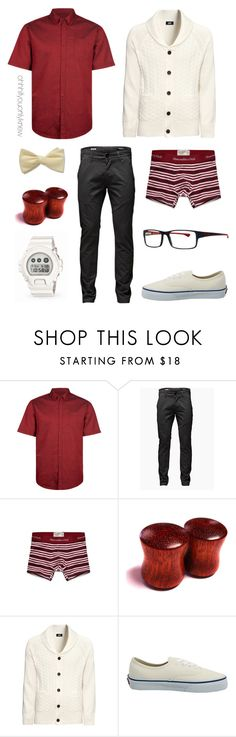 """Untitled #215"" by ohhhifyouonlyknew ❤ liked on Polyvore featuring Retrofit, Jack & Jones, Abercrombie & Fitch, H&M, Vans, G-Shock, menswear, tomboy, mycreations and butch"