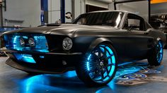 Start with a 2012 Mustang GT, retrofit it with a '67 replica & equip it with Microsoft's infotainment system... Dang, Microsoft, how about doing this to a '67 Shelby Cobra?