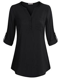 Blouses for Women,Messic Women's Casual Lightweight Shirt...