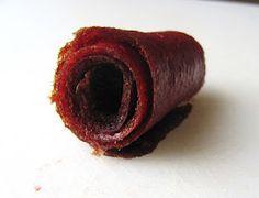 Strawberry Rhubarb Fruit Leather