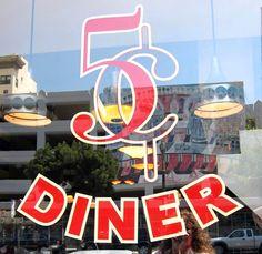 Nickel Diner, downtown Los Angeles