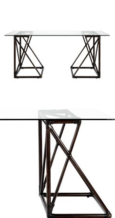 Inspired to take on a little mixing of chic motifs and materials? You'll love the energetic feel of the Borega Desk and its attention to geometric detail. Leather-wrapped rattan serves as an eye-catchi...  Find the Borega Desk, as seen in the The Inventor's Lab Collection at http://dotandbo.com/collections/the-inventors-lab-1?utm_source=pinterest&utm_medium=organic&db_sku=122660