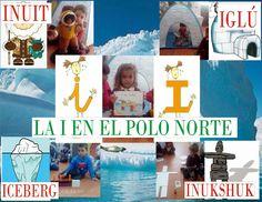 Hoy la princesita I nos ha acompañado al Polo Norte y es que fijándonos bien la hemos descubierto en muchas de las cosas que estam...