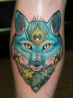 Fox Tattoo | Awesome fox tattoo! | tattoo