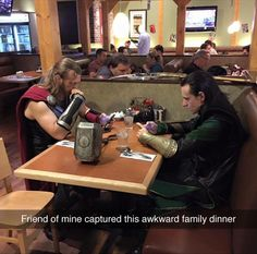 Wow. I'm not sure if I'm more impressed with the cosplays or with the fact that they're both using cell phones....