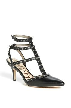 T-strap studded pump. Not a bad alternative to Valentino's Rock Stud pump at 1/7 the price!