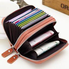 Shiba Inu Wallets For Men Women Long Leather Checkbook Card Holder Purse Zipper Buckle Elegant Clutch Ladies Coin Purse