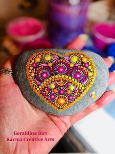 Ideas For Boho Art Painting Mandalas Etsy Dot Art Painting, Rock Painting Designs, Mandala Painting, Pebble Painting, Pebble Art, Mandala Art, Stone Painting, Mandala Meditation, Mandala Painted Rocks