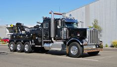 Awesome Peterbilt tow truck and yes based in Palmerston North New Zealand
