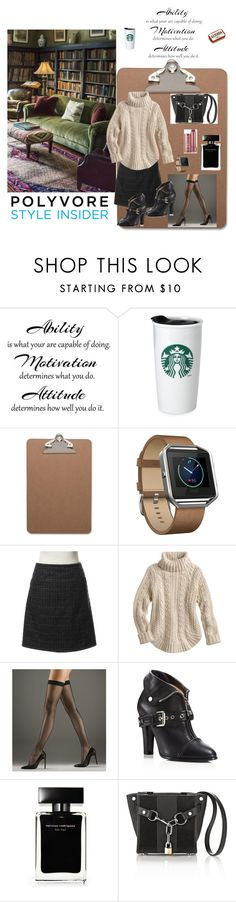 """""""The Well Thought Out Study Date Outfit."""" by cvpires ❤ liked on Polyvore featuring WALL, Fitbit, Prada, Wolford, Moschino, Narciso Rodriguez, Alexander Wang and Fresh"""