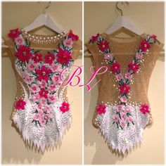Body BL #maillot #strass #ritmicgymnastic #leotards