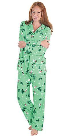 Let it Snow, Man! Pajamas for Women