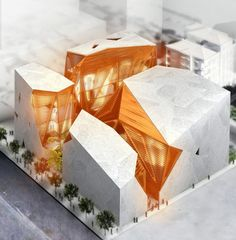 House of arts and culture proposal by KAPUTT!, via SerialThriller™