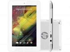 """Tablet HP 7.1 1201 8GB Tela 7"""" Wi-Fi Android 4.2 - Processador Quad Core Câmera 2MP + Frontal"""