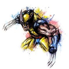 Wolverine by Vincent Vernacatola
