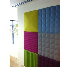 Zenith Interiors Buzzitiles 3D - would love these panels for my headboard...