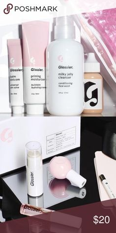 20% OFF Glossier Order Use the below link to get 20% off on your first purchase of any products at glossier! The products are the best skincare products I've ever used, and with 20% off the price is amazing as well.                                    http://bff.glossier.com/eON6X Brandy Melville Makeup
