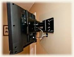 Looking for TV Wall Mount Installation Services? Handyman Services of AlbuquerqueSpecializes in TV Wall Mount Installation in Albuquerque New Mexico! Diy Tv Wall Mount, Best Tv Wall Mount, Wall Mounted Tv, Mount Tv, Tv Wall Mount Installation, Home Theater Installation, Big Screen Tv, Flat Screen, Hide Cable Box