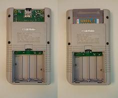 chiz's GB Pi2 Raspberry Pi Projects, Game Boy, Arduino, Nintendo Consoles, Geek Stuff, Games, Retro, Goodies, Image