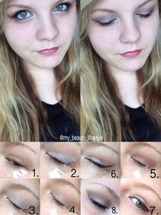 Make-Up | Beauty | Alltag | nude | braun