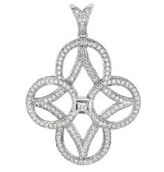 Exclusively at #Capri #Jewelers #Arizona ~ www.caprijewelersaz.com  ♥ beautiful Martin Flyer fashion pendant in diamonds and white gold.