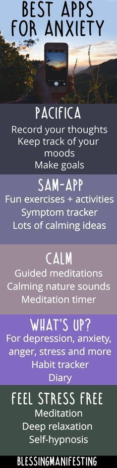 Apps to help manage anxiety #AnxietyHelp #AnxietyApp #MentalHealthHelp