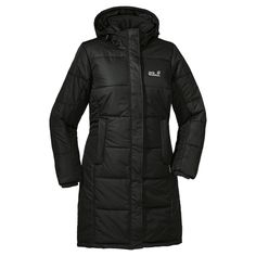 Knee-length, windproof and very warm winter coat with synthetic insulation - Synthetic fill jackets - All jackets - Women - Apparel - Jack W...  Need this for Michigan winters