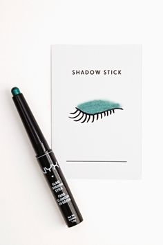 NYX Eye Shadow Stick in Emerald. Cruelty free. PETA approved brand. Not Leaping Bunny certified.