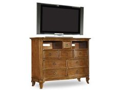 Shop for Hooker Furniture Media Chest, 1125-91011, and other Home Entertainment Entertainment Centers at Barrs Furniture in McMinnville, TN. Eight drawers, two open compartments, top drawer has partitions.