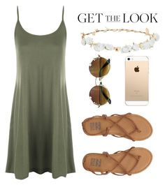 """""""Weekend Style"""" by mfkapocias ❤ liked on Polyvore featuring WearAll, Billabong, Robert Rose and GetTheLook"""