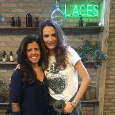 Fernanda no Laces