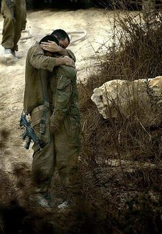 Reminds me of David and Jonathan biblically We should all take a moment to thank the people that protect us every day and night