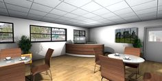 Restaurant / Servery Design 3D Visuals – by Space Catering