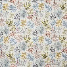 Coral - Tropical fabric, from the Beachcomber collection by Prestigious Textiles