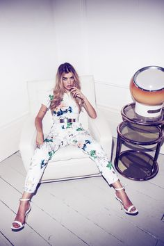 This jumpsuit is gorgeous and can we just look at this model a second? Wow. #missguidedaw14