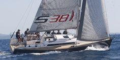 Salona 38 under sails
