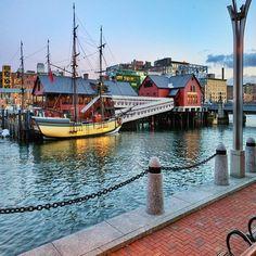 Boston Tea Party Ships and Museum, Boston, Massachusetts