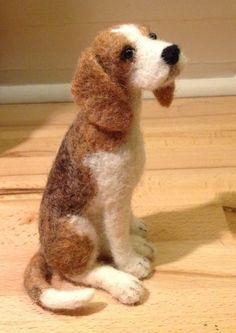 Coriandr / jennymade / needle felted dog portrait- Absolutely wonderful a very clever lady