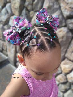 Lulu Hairstyles, Cute Toddler Hairstyles, Easy Little Girl Hairstyles, Kids Curly Hairstyles, Toddler Hair Dos, Baby Girl Hairstyles, Belle Hairstyle, Girl Hair Dos, Curly Hair Styles